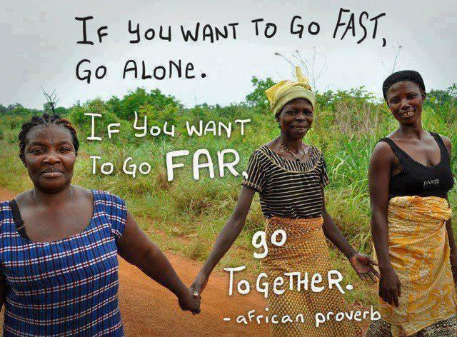 mensaje africano