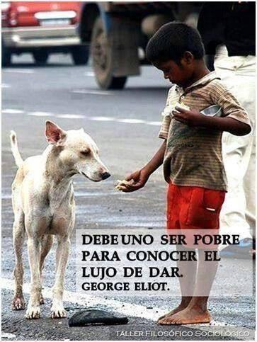Pobreza: generosidad